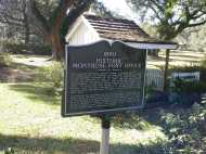Historic site along the trail