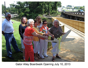 Gator Alley opening