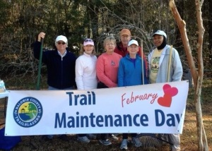 Trail Maint Day 2014