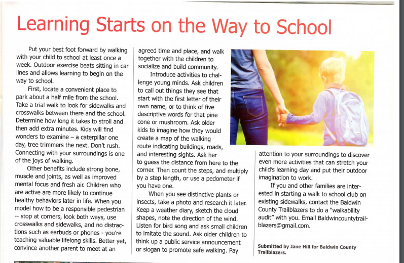 learning starts on the way to school 2019